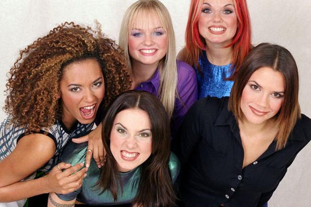Hình ảnh nhóm nhạc Spice Girls đình đám một thời