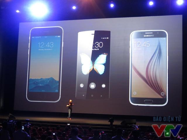 BPhone đọ dáng cùng Galaxy S6 và Iphone 6