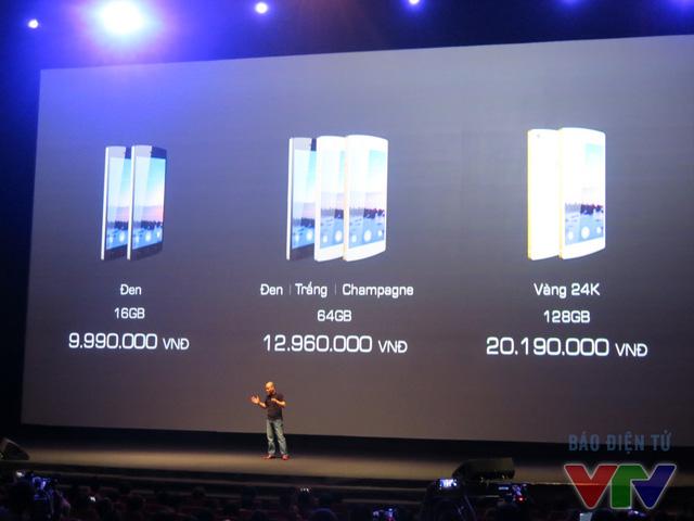 Các mức giá của BPhone