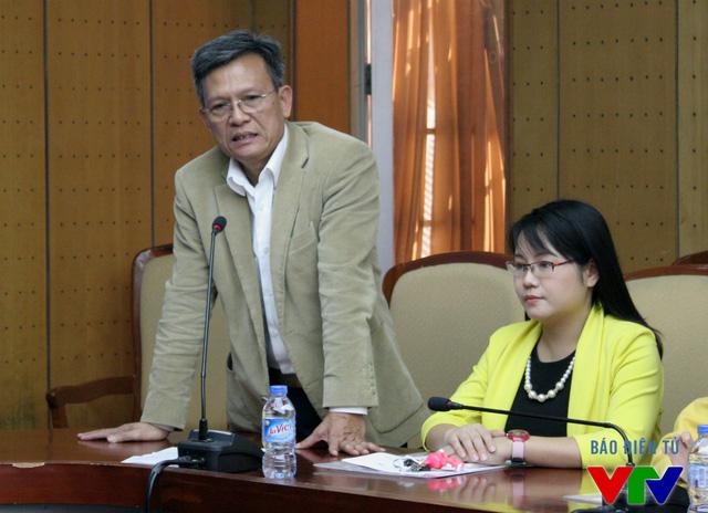 Ông Phạm Văn Quang – Phó Bí thư thường trực Đảng ủy, Phó Chủ tịch Quỹ Tấm lòng Việt