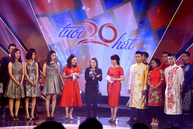 Nhà báo Tạ Bích Loan chia sẻ cảm xúc của mình đối với các thí sinh và chương trình Tuổi 20 hát.