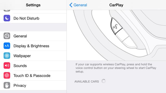 Tính năng CarPlay giờ đây đã hỗ trợ kết nối không dây