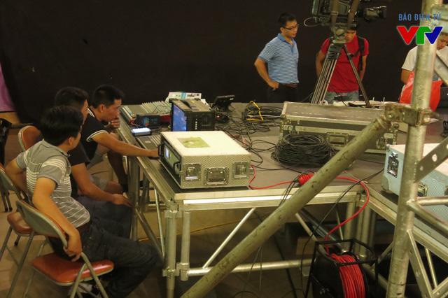 Bộ phận âm thanh cho chương trình