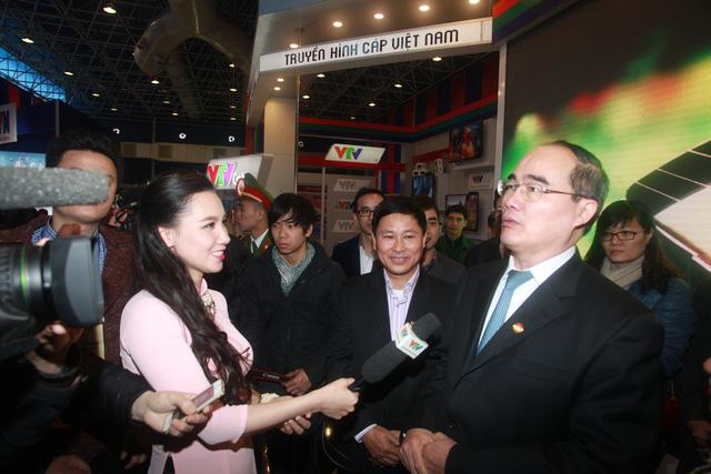 ông Nguyễn Thiện Nhân - Ủy viên Bộ Chính trị, Chủ tịch Ủy ban Trung ương MTTQ Việt Nam trả lời phỏng vấn của PV Đài THVN