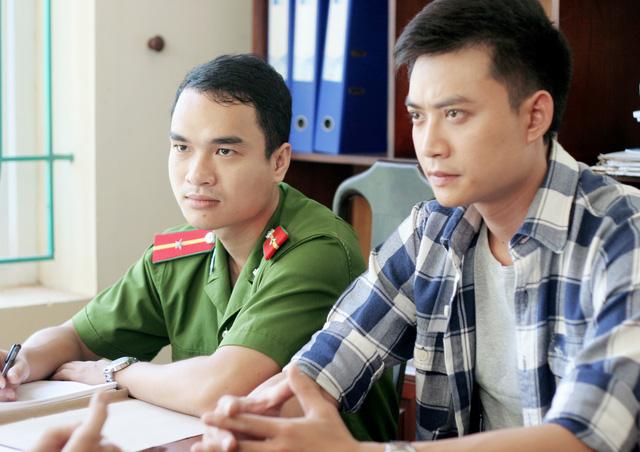 Tiến Lộc vào vai nam chính - thượng úy Phong.
