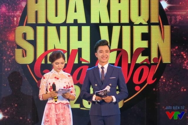 2 MC chương trình Anh Duy và Thanh Hằng