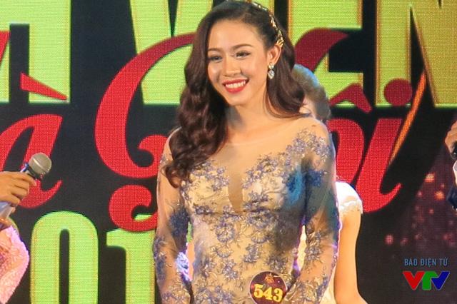 Hoàng Hồng Nhung là Thí sinh mặc trang phục dại hội đẹp nhất