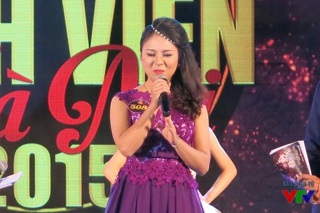 Ngô Tú Anh - thí sinh được bình chọn nhiều nhất trong cuộc thi