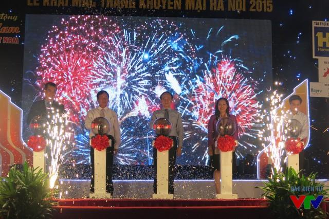 Tháng khuyến mại Hà Nội 2015 chính thức khởi động với nhiều chuỗi sự kiện hấp dẫn