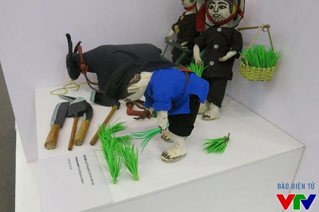 Mô hình nghề nông dành cho trẻ mầm non của tác giả Vi Thị Trôi