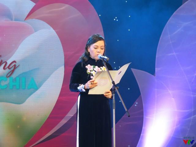 Bà Nguyễn Thị Kim Tiến - Bộ trưởng Bộ Y tế - phát biểu tại chương trình.