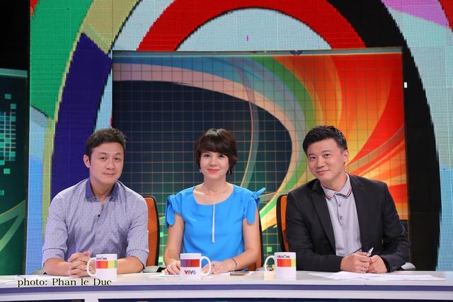 Bộ ba giám khảo của Cầu vòng 2015 lĩnh vực MC