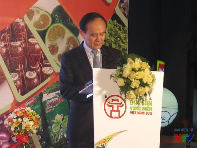 Ông Nguyễn Ngọc Tuấn - Ủy viên Ban thường vụ Trung ương phát biểu khai mạc.
