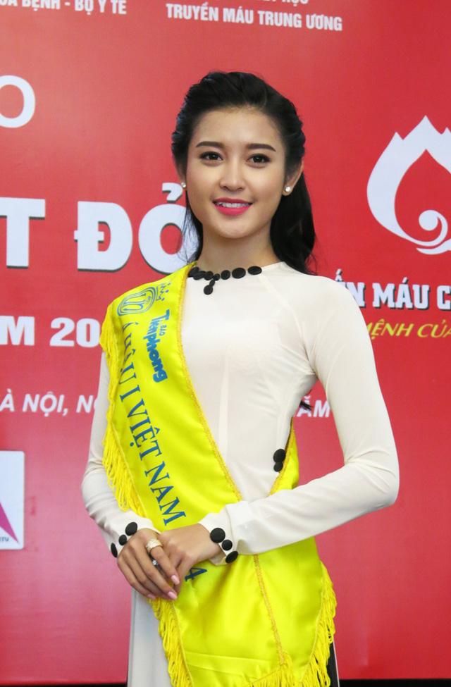Bên cạnh các hoạt động xã hội, năm 2015, Huyền My còn muốn tham gia vào nhiều sự kiện văn hóa để truyền bá vẻ đẹp của dân tộc.