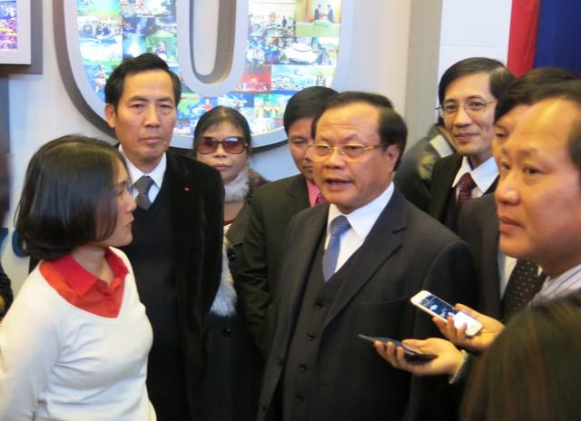 Bí thư Thành ủy Hà Nội Phạm Quang Nghị cho biết Hà Nội luôn dành được sự quan tâm đặc biệt của báo chí trên cả nước