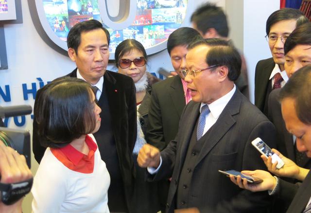 Bí thư Thành ủy Hà Nội Phạm Quang Nghị đã khen ngợi đội ngũ nhà báo hiện nay