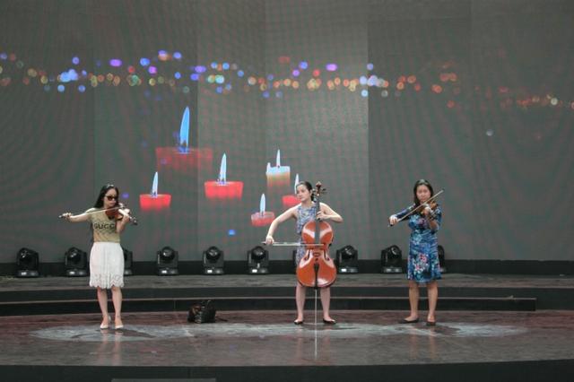 Nhóm tứ tấu Apaixonado sẽ thể hiện ca khúc Tự nguyện.