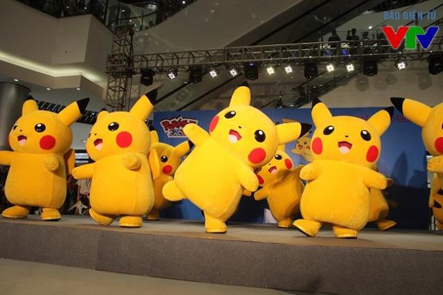 Trong tháng 11 vừa qua, sự kiện Binh đoàn Pikachu đổ bộ tại AEON Mall Long Biên đã thu hút hàng nghìn bạn trẻ.