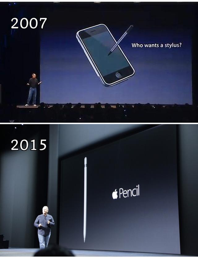 Apple đang tự đi ngược lại với những gì mình từng tuyên bố