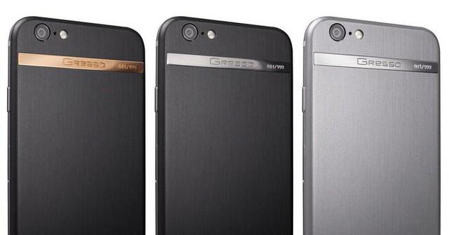 3 mẫu iPhone 6 nằm trong bộ sưu tập của Gresso