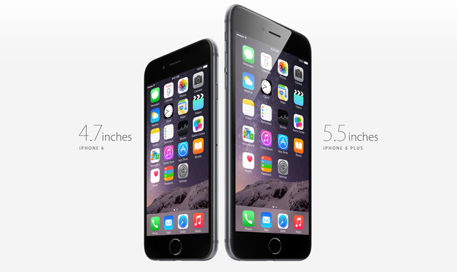 iPhone 6 Plus được coi là phiên bản cỡ lớn của chiếc iPhone 6
