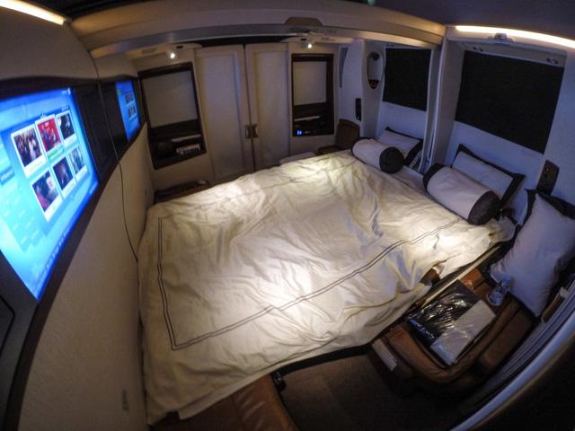 Căn phòng đã biến thành một phòng ngủ kín đáo