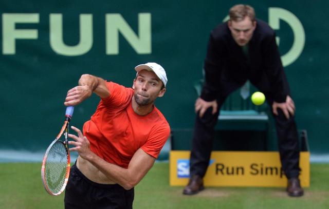 Karlovic với khả năng giao bóng khủng khiếp là nỗi đe doạ với các tay vợt hàng đầu.