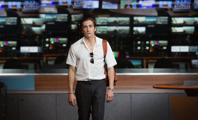 Jake Gyllenhaal với vai diễn được đánh giá cao trong Nightcrawler.