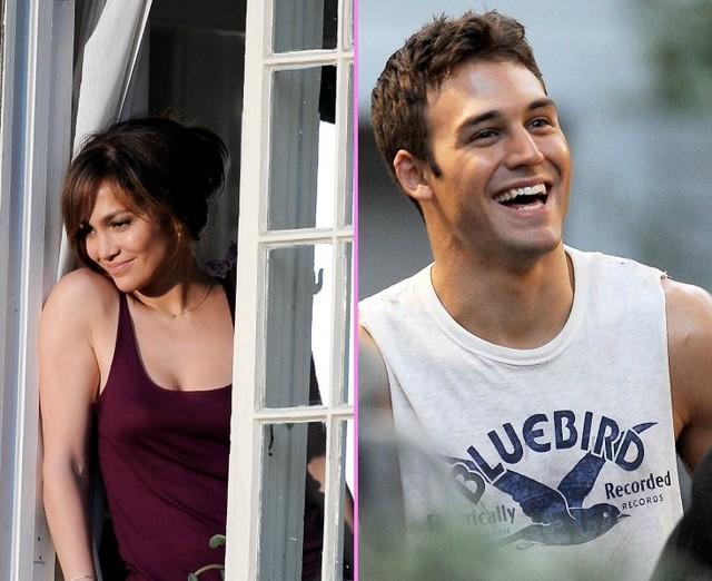 Jennifer Lopez và Ryan Guzman trong phim