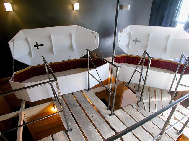 Khách sạn Propeller ở Berlin (Đức) là nơi thích hợp với những du khách ưa thích cảm giác mạo hiểm, kinh dị.
