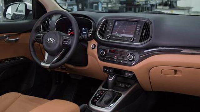 Hình ảnh nội thất chiếc Kia KX3