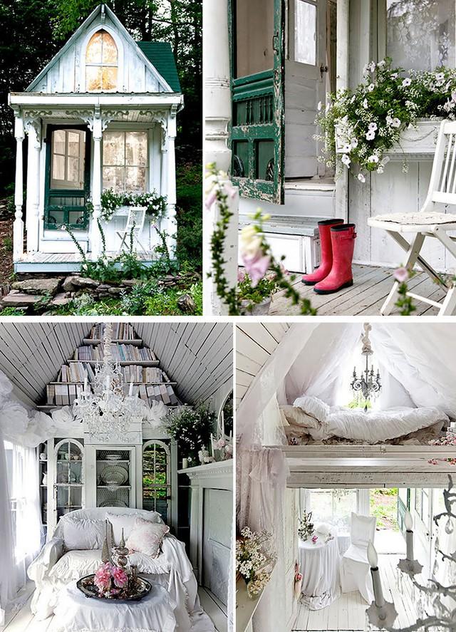 Ở thành phố New York (Mỹ), nhiều người biết đến một căn nhỏ xinh xắn nằm bên thung lũng vùng Catskills, với diện tích nhỏ và phong cách cổ điển, nữ tính.