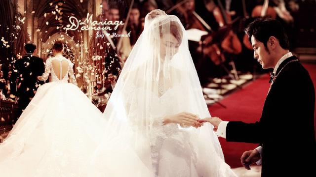 Hình ảnh đám cưới của Châu Kiệt Luân tại Anh.