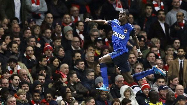 Kondogbia là lá chắn thép nơi tuyến giữa của AS Monaco đồng thời ghi bàn thắng mở tỉ số trận đấu với Arsenal.
