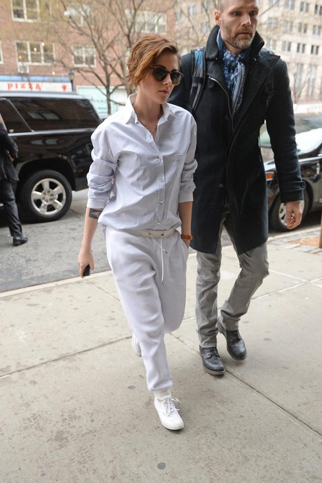 Khi đi dự sự kiện, Kris cũng mang phong cách tomboy.