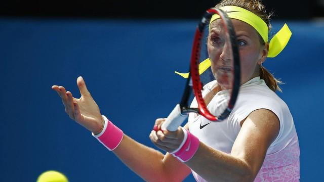 Kvitova là nhân tố chủ lực giúp CH Czech vào CK Fed Cup 2015.