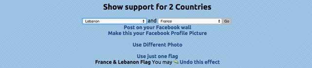 Người dùng có thể chọn kết hợp ủng hộ hai quốc gia cùng một lúc