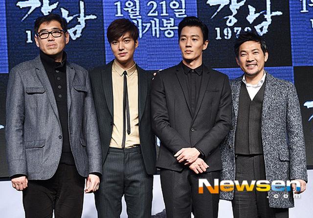 Lee Min Ho, Kim Rae Won cùng đạo diễn và nhà sản xuất phim ra mắt khán giả.