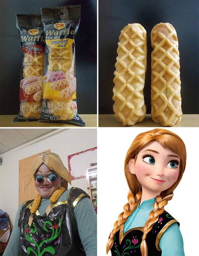 Công chúa Anna - em gái của nữ hoàng băng giá Elsa trong bộ phim Frozen