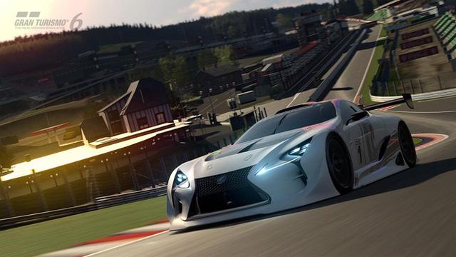 Chiếc Lexus LF-LC GT Vision Gran Turismo sẽ xuất hiện trong game Gran Turismo 6 ra mắt đầu năm 2015
