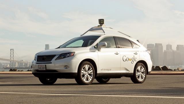 Mẫu xe tự lái thử nghiệm của Google