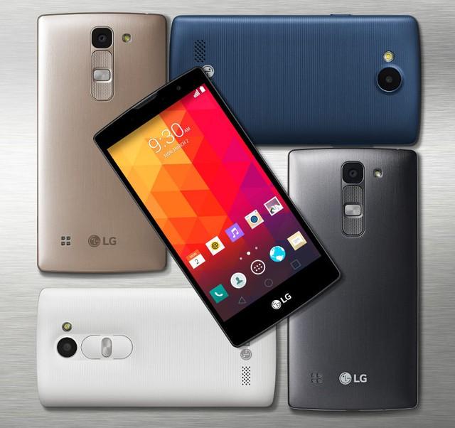 Bộ tứ smartphone mới của LG có kích thước, thiết kế và cấu hình khác nhau