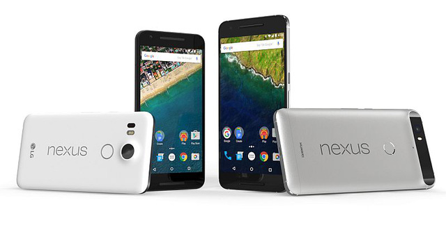 Nexus 5X và Nexus 6P