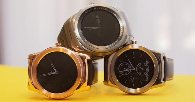LG Watch Urbane vẫn mang thiết kế mặt đồng hồ tròn theo phong cách cổ điển