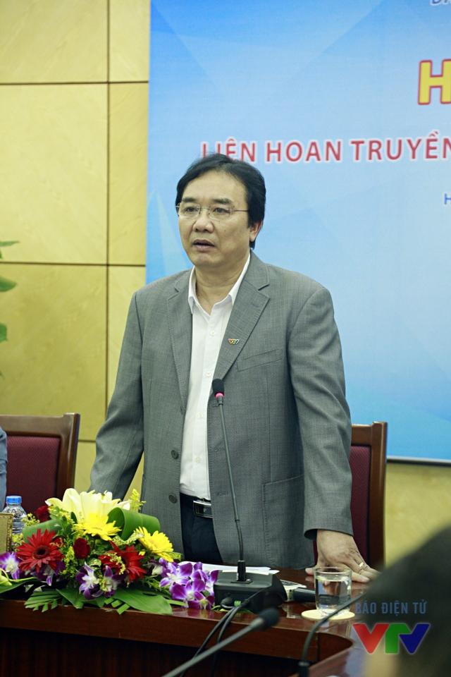 Nhà báo Phạm Việt Tiến - Phó Tổng Giám đốc Đài THVN, Chủ tịch Liên hoan Truyền hình toàn quốc lần thứ 35