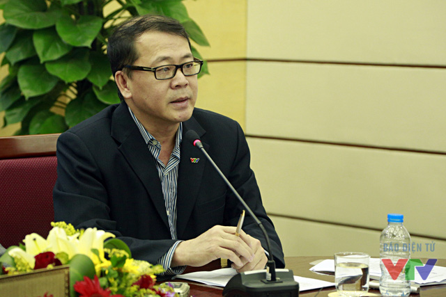 Ông Nguyễn Hà Nam - Trưởng ban Thư ký biên tập Đài THVN, Phó Trưởng ban thường trực Ban tổ chức LHTHTQ lần thứ 35