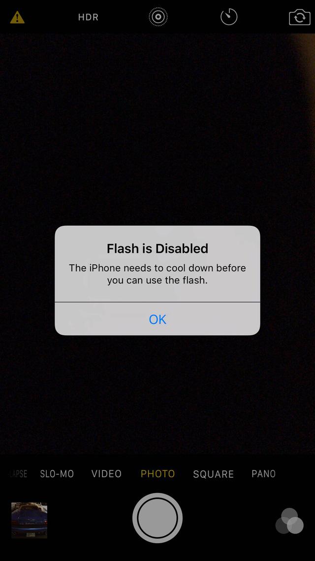 Thông báo trên iPhone 6S sau khi sử dụng máy một thời gian