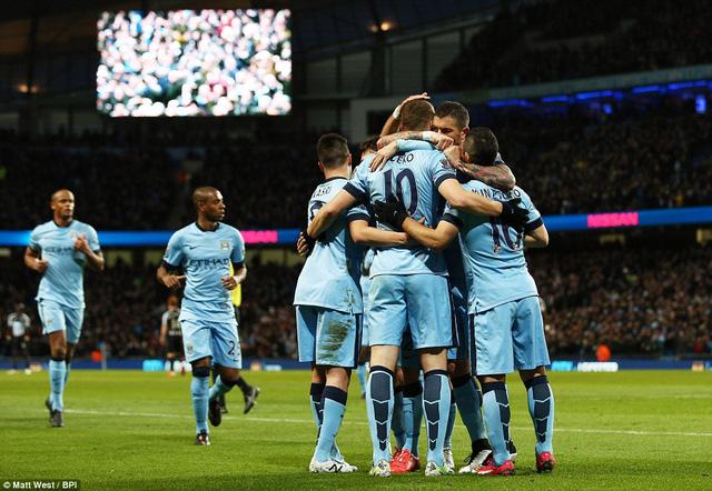 Man City đang thi đấu khởi sắc sau khi Yaya Toure trở lại và hàng công hoạt động hiệu quả.