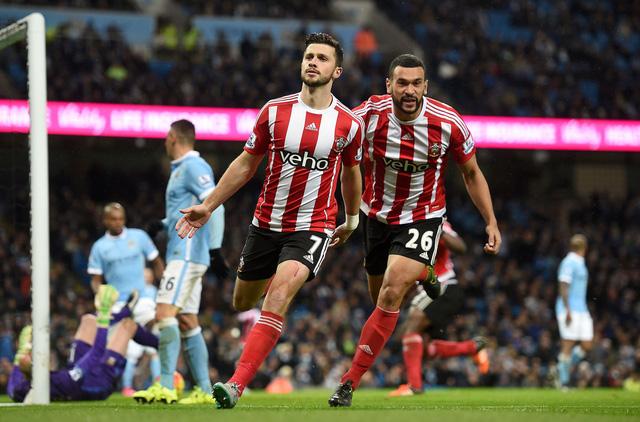 Bàn thắng của Shane Long đã không thể giúp Southampton giành điểm tại Etihad