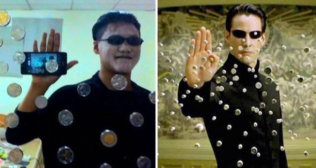 Neo - nhân vật chính trong bộ phim Ma trận (Matrix)